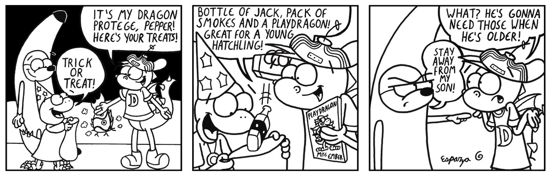 Halloween Guest Comic by Jon Esparza!