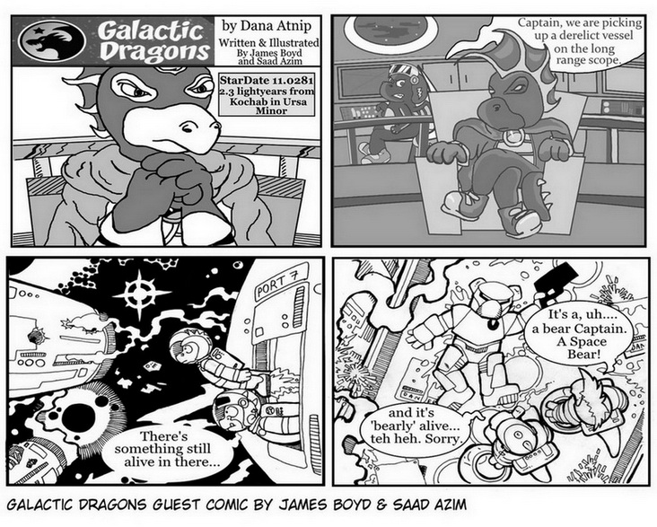 Guest Comic by James Boyd and Saad Azim!