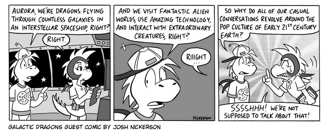 Guest Comic by Josh Nickerson!