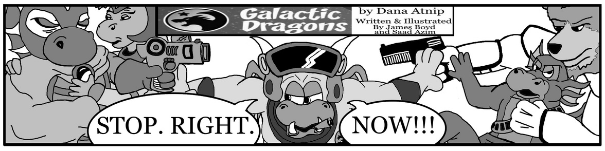 Guest Comic by James Boyd and Saad Azim #3